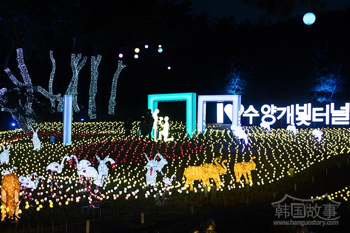 [忠清北道丹阳] 韩国旅游发展局推荐,'垂杨介星光隧道'被选定为8月值得一去景点