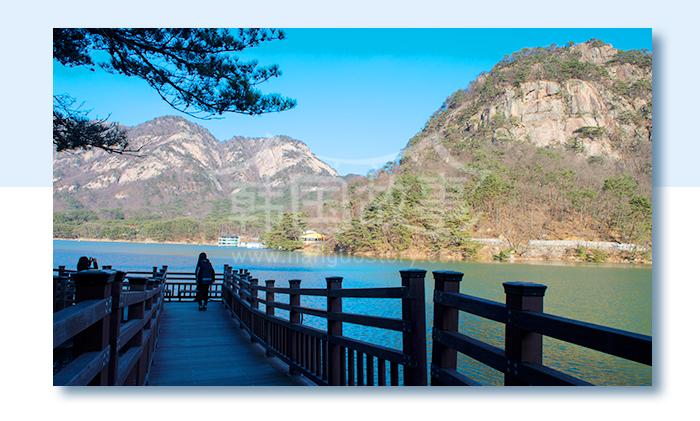 [京畿道景点] 以湖水净化心灵 - 抱川山井湖포천 산정호수