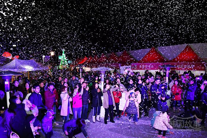 [全罗南道潭阳] [相片新闻] 第三届潭阳圣诞老人庆典开幕,充满童话般风景的潭阳冬日