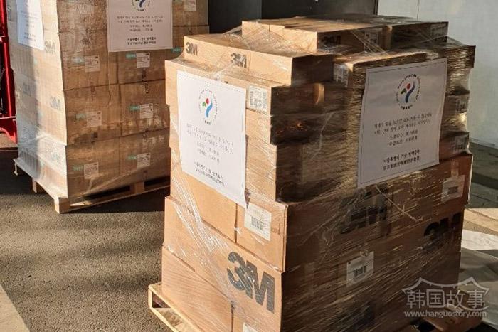 [韩国首尔] 首尔市向中国友好‧侨居城市提供6亿物品援助
