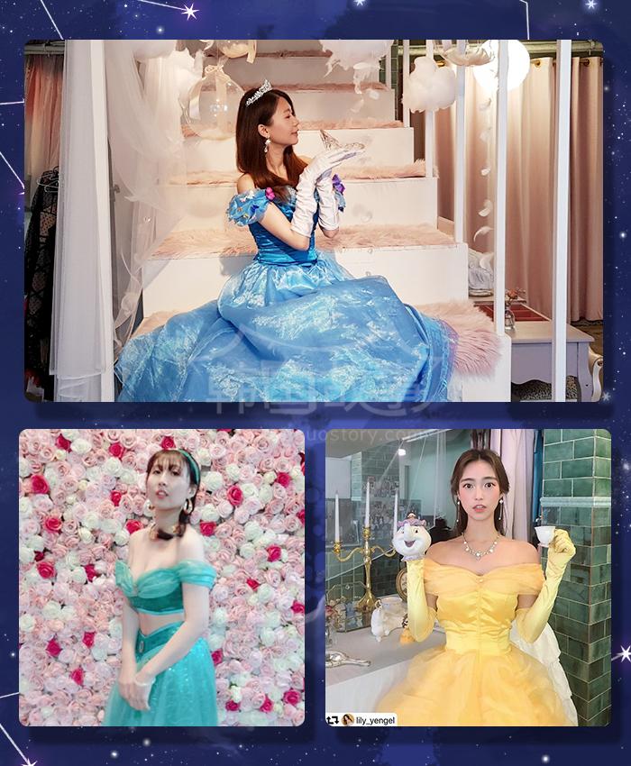 [韩国首尔/体验] 变身迪士尼公主! 首尔人气换装咖啡厅 – YUMI'S DRESSROOM