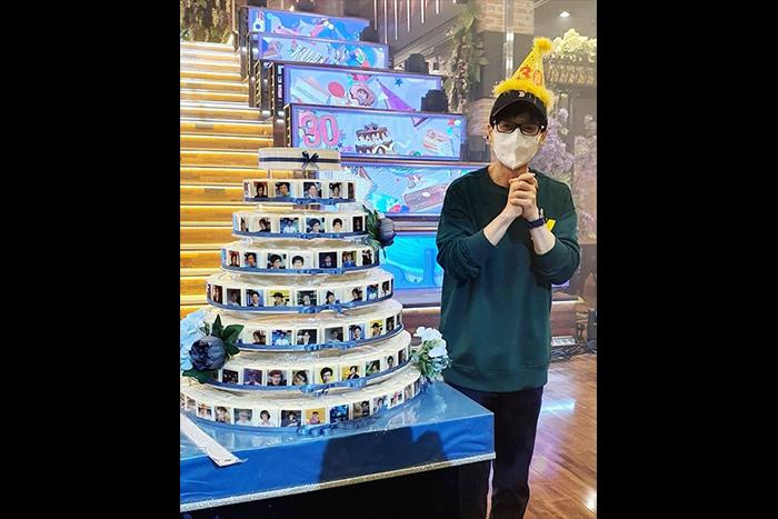 """[韩国普通] 《闲在干吗?》制作组祝贺刘在石出道30周年正准备""""两天一夜""""庆祝活动"""